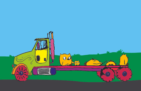 """Flatbed from """"Trucks & Owls"""""""