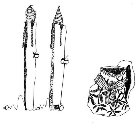 gang of weird objects