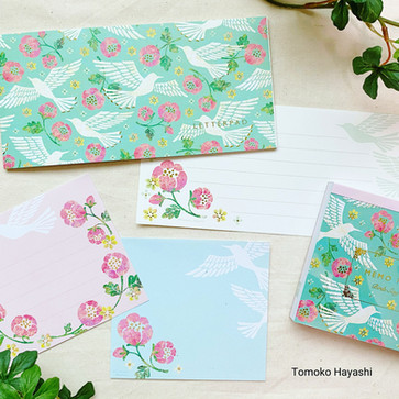 Mini Letter & Memo pad