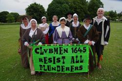 Clubmen 1645 Banner