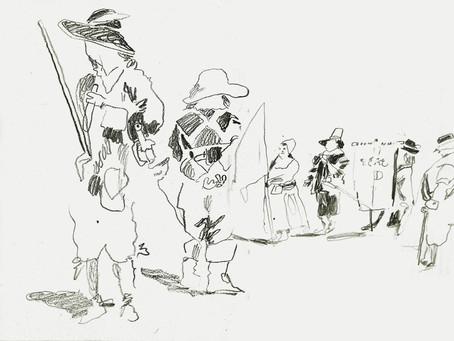 The Western  Husbandman's Lamentation Half Penny song, March 1645