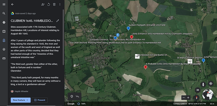GOOGLE EARTH HAMBLEDON HILL.PNG