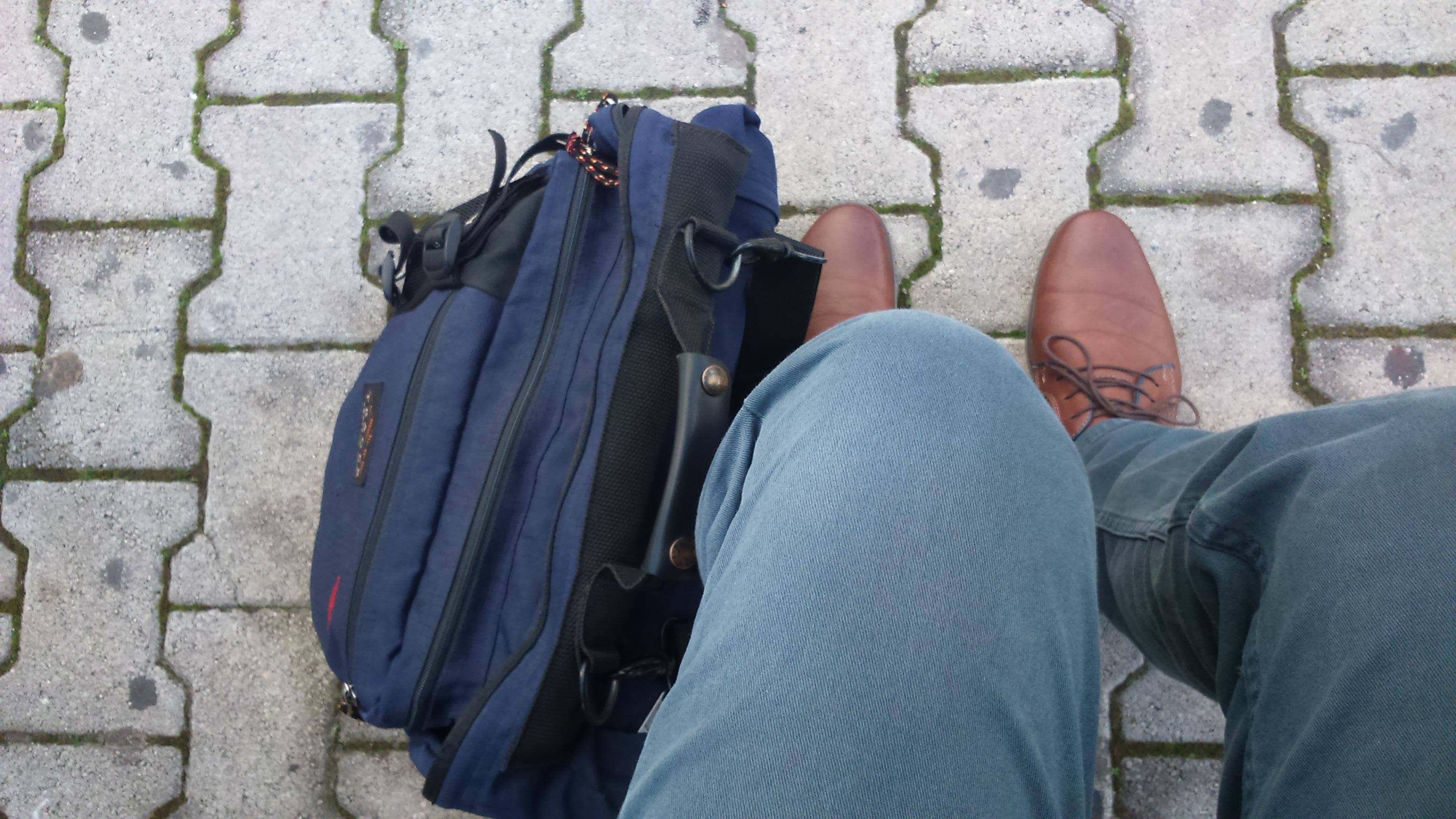 J'attends le train