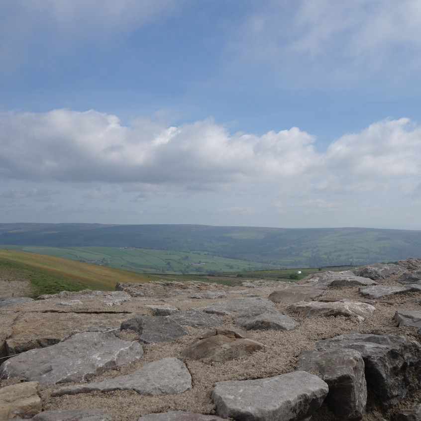 The View From Coldstones Cut near River View Pateley