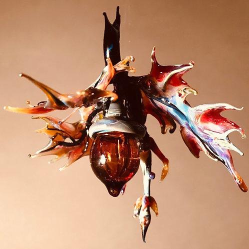 Blown Glass Acorn Ornament