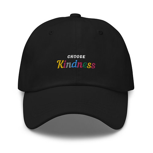 Choose Kindness Embroidered Cap