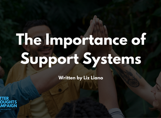 The Importance of Support Systems - By Liz Liano