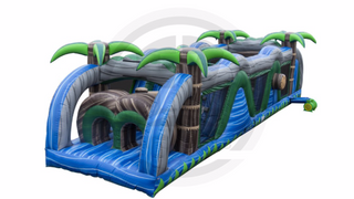40' Blue Crush Obstacle Course
