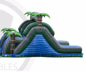 16' Blue Crush Double Lane Slide