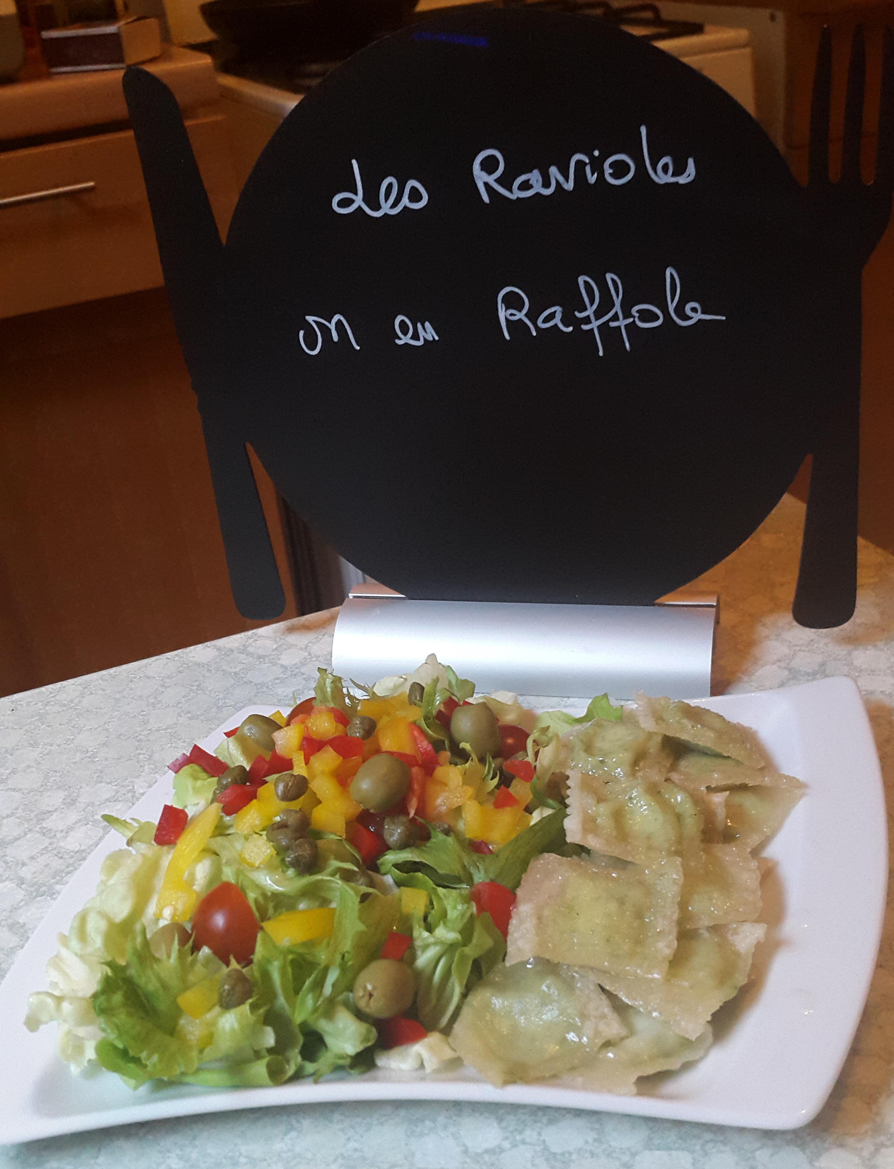 Les ravioles, on en raffole!!