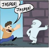 Jasper the Unfriendly Ghost