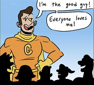 Good Guy vs. Bad Guy
