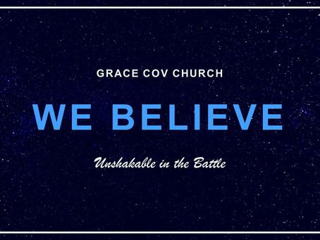 We believe - Unshakable in the battle   Richard Stewart