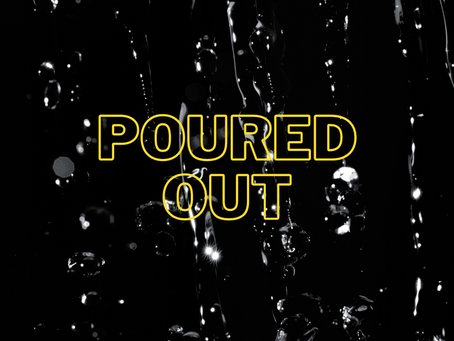 Vision of a poured out life - Alan Parfitt