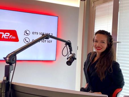 Interview - ONE Fm -RADIO LAC - Communication d'entreprise