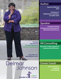 Delmar Johnson Media Kits/Speaker Sh