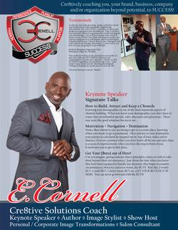 E. Cornell Media Kit/Speaker Sheets
