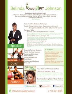 Belinda BFit Johnson Media Kit
