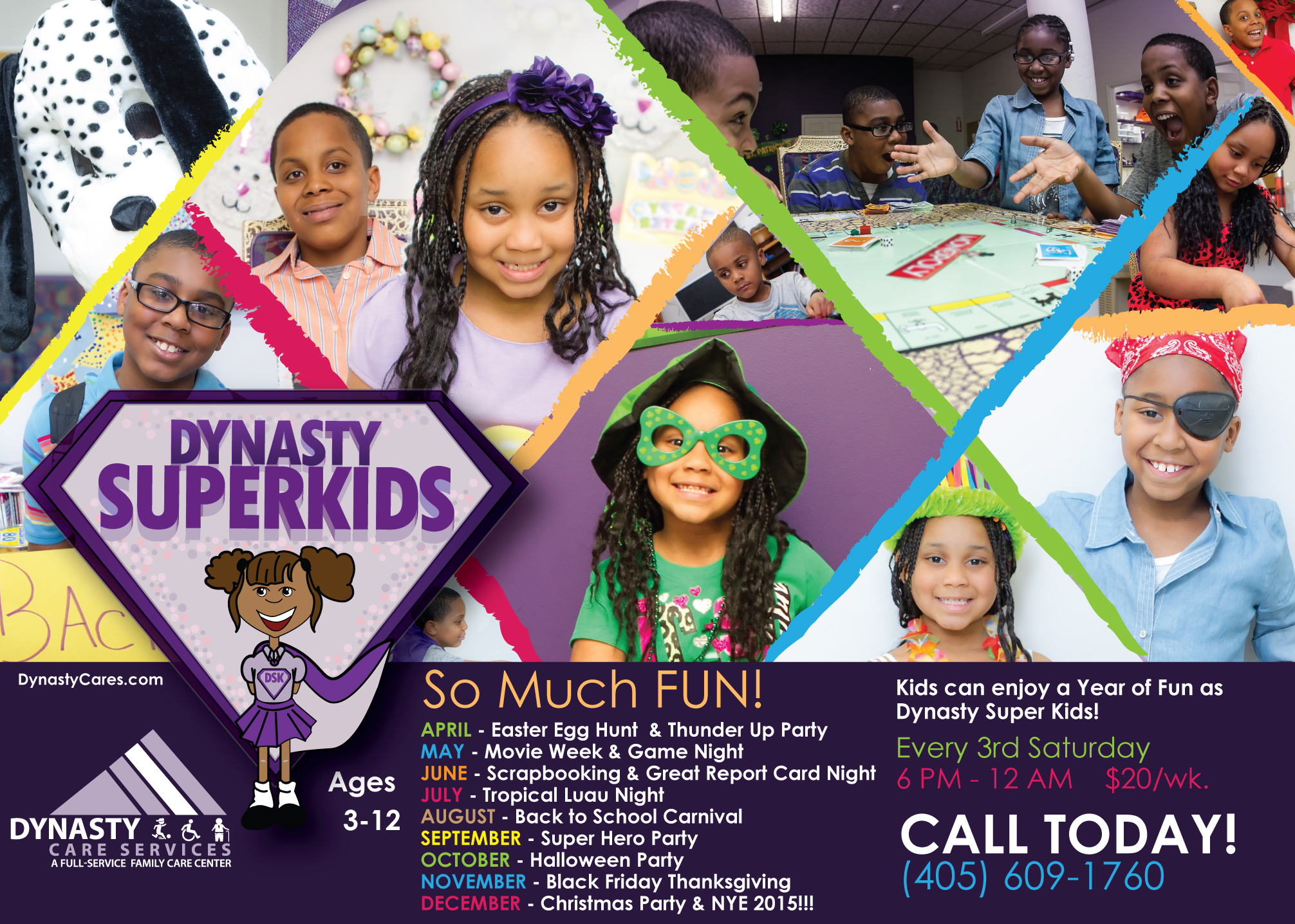 Dynasty Cares Super Kids