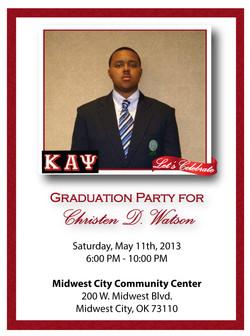 Graduation Insert