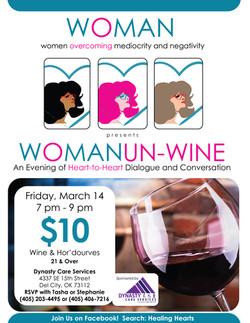 Woman Un-Wine