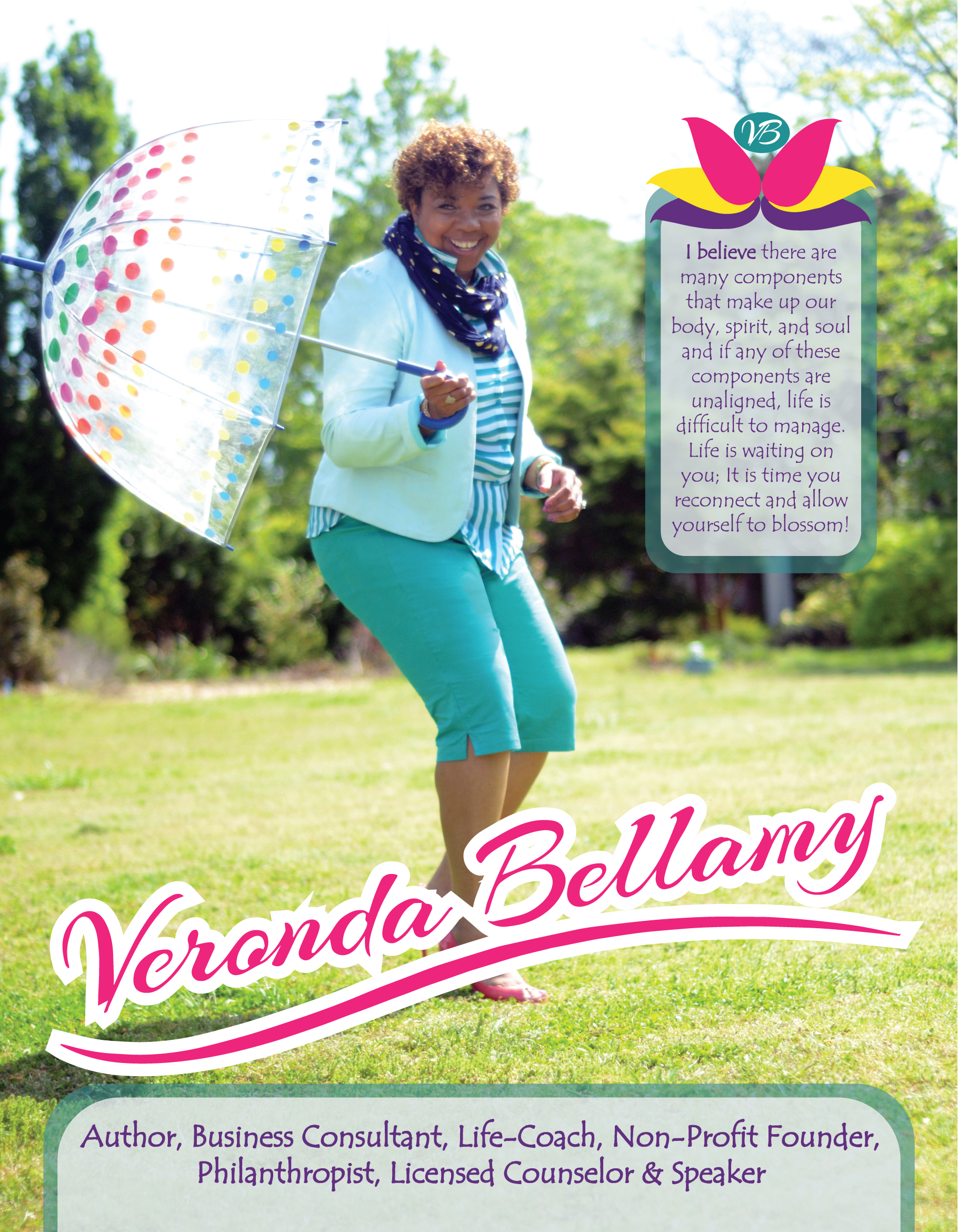 Veronda Bellamy Media Kits/Speaker S