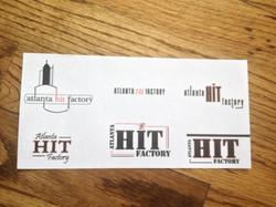 Atlnat Hit Factory Logos