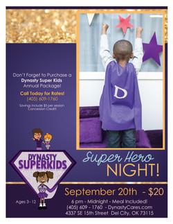 Dynasty Cares Super Kids