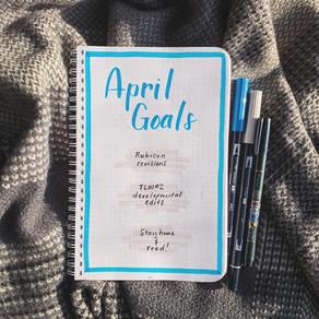 Tactical Bujo » April Goals