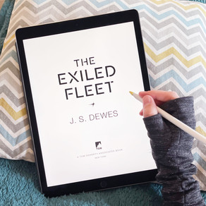 Publishing Quest » First Pass Pages for The Exiled Fleet
