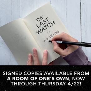 The Last Watch Signed Copies (Through 4/22)