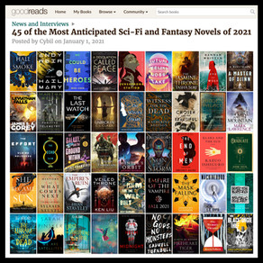 Publishing Quest » The Last Watch, Goodreads Most Anticipated Sci-Fi & Fantasy of 2021