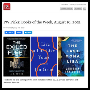 The Exiled Fleet is a Publishers Weekly Book of the Week!