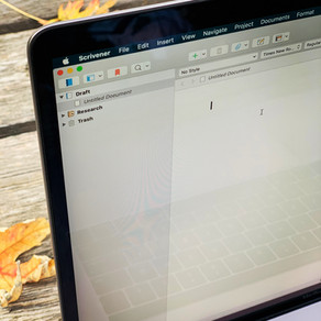 Writing Quest » Ahh, the Fresh Smell of a Brand New Scrivener Document
