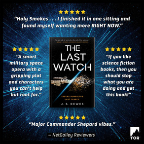 Publishing Quest » The Last Watch Reader Reviews