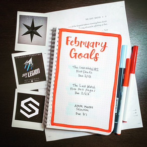 Tactical Bujo » February Goals