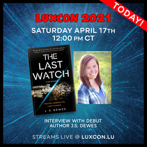 Events » LuxCon 2021, Interview with J.S. Dewes