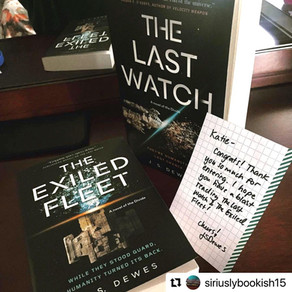 The Last Watch & The Exiled Fleet » Repost from @siriuslybookish15