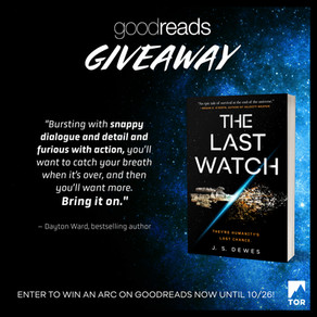 Publishing Quest » The Last Watch Giveaway Reminder!