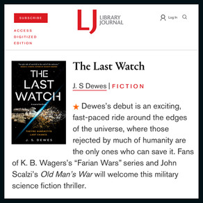 Publishing Quest » The Last Watch Starred Review in Library Journal