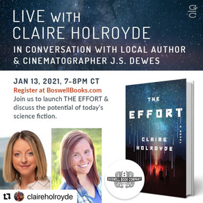 Event » January 13 — Zoom with Claire Holroyde, author of The Effort