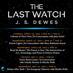 The Last Watch Virtual Book Tour