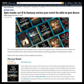 The Divide » Amazon Books, Epic Reads: Sci-Fi & Fantasy Series You Won't Be Able to Put Down