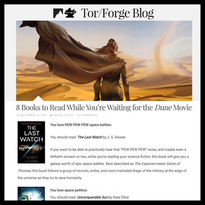 The Last Watch » Tor/Forge, 8 Books to Read While You're Waiting for the Dune Movie