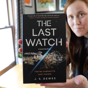 Publishing Quest » Unboxing Author Copies of The Last Watch!