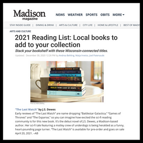 Publishing Quest » Madison Magazine, 2021 Reading List