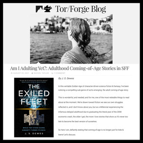 Article » Tor/Forge: Am I Adulting Yet?: Adulthood Coming-of-Age Stories in SFF