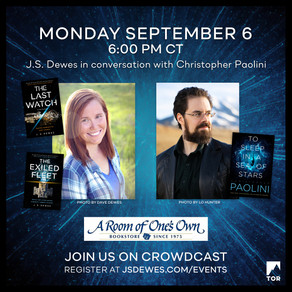 Events » In Conversation with Christopher Paolini