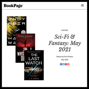 Publishing Quest » BookPage, Sci-Fi & Fantasy: May 2021