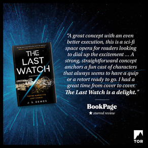 Publishing Quest » The Last Watch Starred Review from BookPage
